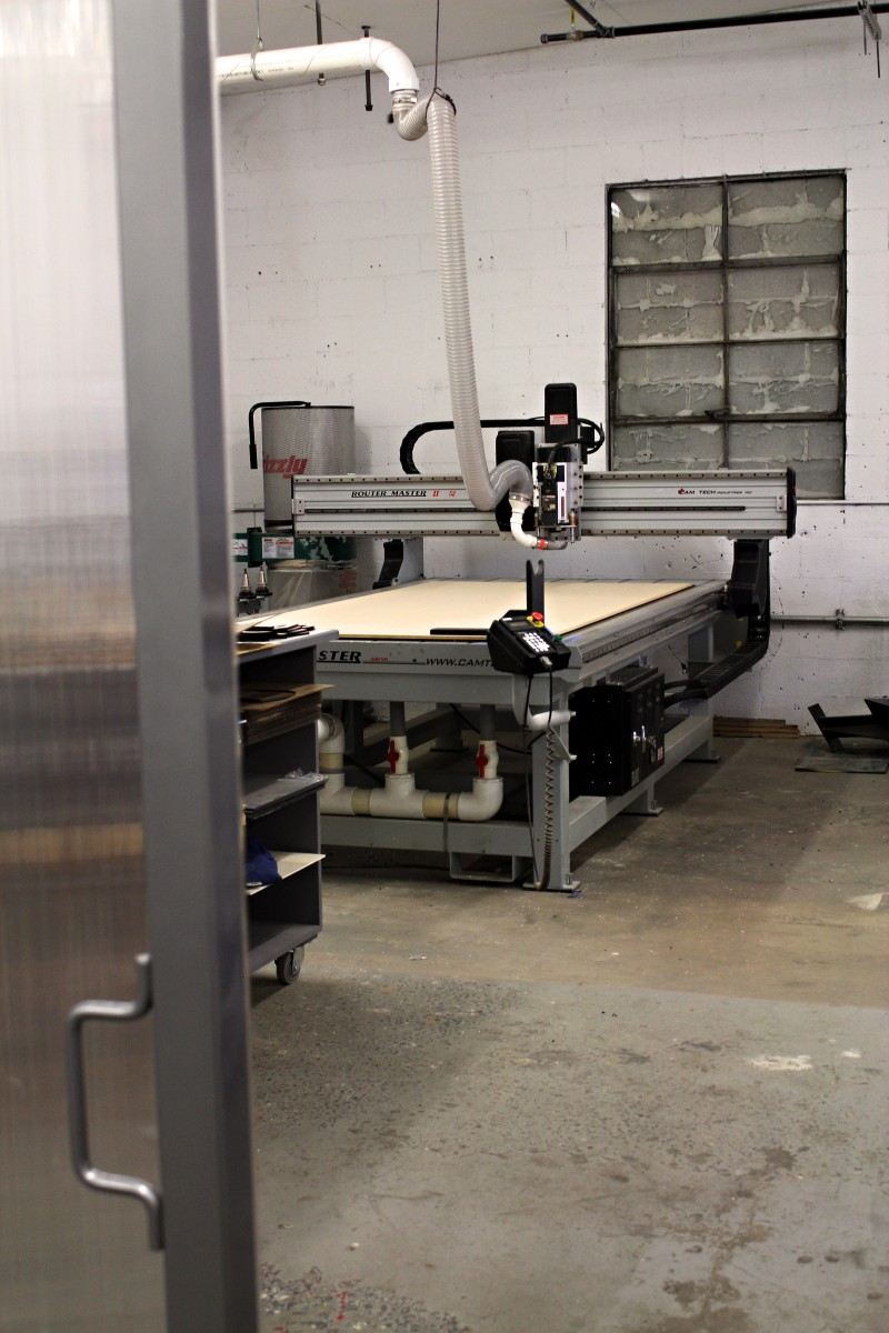 The New CNC-Router